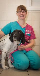 bill-with-pdsa-senior-vet-clare-hinchcliffe-158x300